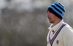 Somerset's Alex Barrow - Photo mandatory by-line: Harry Trump/JMP - Mobile: 07966 386802 - 24/03/15 - SPORT - CRICKET - Pre Season Fixture - Day 2 - Somerset v Glamorgan - Taunton Vale Cricket Club, Somerset, England.