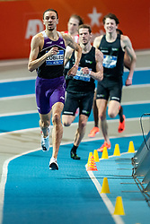 Djoao Lobles in action on the 800 meter during AA Drink Dutch Athletics Championship Indoor on 21 February 2021 in Apeldoorn.