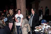 SUE WEBSTER, Amanda Eliasch birthday dinner. North Audley st. London. 12 May 2010. -DO NOT ARCHIVE-© Copyright Photograph by Dafydd Jones. 248 Clapham Rd. London SW9 0PZ. Tel 0207 820 0771. www.dafjones.com.