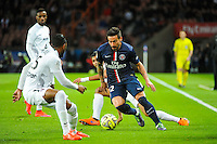 Ezequiel LAVEZZI - 28.04.2015 - Paris Saint Germain / Metz - Match en retard - 32eme journee Ligue 1<br />Photo : Nolwenn Le Gouic / Icon Sport