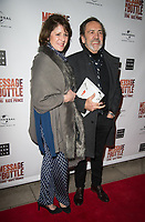 Robert Lindsay,Rosemarie Ford at the Message in a Bottle press night , Peacock Theatre, London