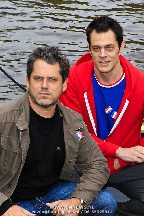 NLD/Amsterdam/20101029 - Photocall Jacass 3D met Johnny Knoxville en Jeff Tremaine