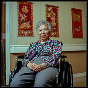 DECEMBER 20th, 2017. Ping Wong, at nursing home in Voorhees, NJ, near Philadelphia. Year-end update on the people from the 2015 Oldest Old series. (photo Edu Bayer)