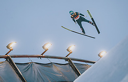 29.02.2020, Salpausselkae Hill, Lahti, FIN, FIS Weltcup Ski Sprung, Herren, Teamspringen, im Bild Michael Hayboeck (AUT) // Michael Hayboeck of Austria during the men's team event of FIS Ski Jumping World Cup at the Salpausselkae Hill in Lahti, Finland on 2020/02/29. EXPA Pictures © 2020, PhotoCredit: EXPA/ JFK