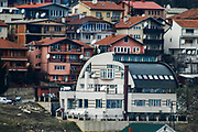 A general overview of the house of Ramush Haradinaj, who is a Kosovar politician, leader of the AAK party, and was the 3rd Prime Minister of Kosovo. He is a former officer and leader of the Kosovo Liberation Army and previously served as Prime Minister of Kosovo between 2004 and 2005. The picture was taken two days prior to the first anniversary of the declaration of independence of Kosovo, Feb 15, 2009. (Photo/ Vudi Xhymshiti)