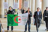 Algeria Stock Exchange Protest