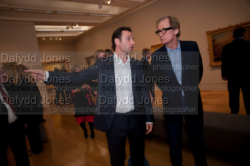 ANDREW LINCOLN; BILL NIGHY, Private view and dinner for the opening of Turner and the Masters. Tate Britain on Millbank, London. 21 September 2009