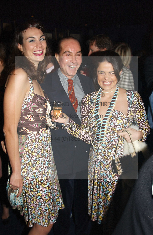 at a party hosted by Tatler magazine to celebrate the publication of the 2004 Little Black Book held at Tramp, 38 Jermyn Street, London SW1 on 10th November 2004.<br />