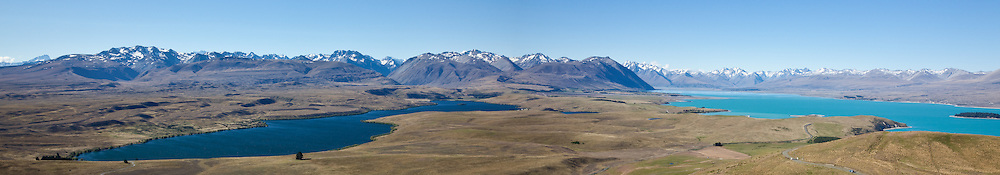 Lake Alexandrina is located in the Mackenzie Basin of New Zealand's South Island, between the much larger lakes Tekapo and Pukaki, to the north of Lake Tekapo township. The lake is spring fed with an outlet on its eastern shore mid way down the lake. The outlet feeds into a smaller lake, Lake MacGregor before feeding into Lake Tekapo. Lake Alexandrina is a nature reserve and a trout fisherman's paradise. A small number of fisherman's huts are clustered at each end of the lake and near the outlet. Row boats are the only mode of transport on the lake as Sail and motor boats are prohibited.