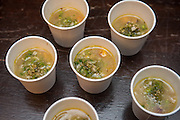 TOMATILLO, Physalis philadelphica Showcase: 'Purple Keepers' x 'Plaza Latina Giant'<br />Breeder: Andrew Still & Sarah Kleeger, Adaptive Seeds Chef: Jaret Foster, Tournant<br />Dish: Pozole Verde with Tomatillos and Open Oak Party Mix Dent Corn