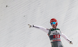 29.12.2015, Schattenbergschanze, Oberstdorf, GER, FIS Weltcup Ski Sprung, Vierschanzentournee, Bewerb, im Bild Andreas Wank (GER) // Andreas Wank of Germany reacts after his 2nd Competition Jump of Four Hills Tournament of FIS Ski Jumping World Cup at the Schattenbergschanze, Oberstdorf, Germany on 2015/12/29. EXPA Pictures © 2016, PhotoCredit: EXPA/ JFK