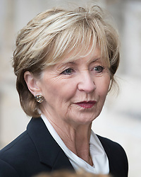 © Licensed to London News Pictures. 27/09/2016.  Sue Lawley arrives for a Service of Thanksgiving for the Life and Work of Sir Terry Wogan at Westminster Abbey. Veteran broadcaster Sir Terry Wogan died in January 2016. The Irish star had a long and successful career at the BBC, including stints on  radio and TV. London, UK. Photo credit: Peter Macdiarmid/LNP