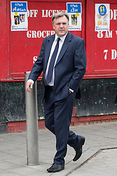 © Licensed to London News Pictures . 20/09/2014 . Manchester , UK . ED BALLS . Arrivals at the funeral of Heywood and Middleton MP Jim Dobbin at Salford Cathedral today (Saturday 20th September 2014) . Photo credit : Joel Goodman/LNP