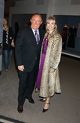 ANDREW NEIL and AURELIA BONITO at a fashion show and after party to celebrate the 20th Anniversay of fashion designer Ozwald Boateng held at the Victoria & Albert Museum, London on 25th November 2005.<br /><br />NON EXCLUSIVE - WORLD RIGHTS