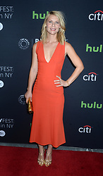 Claire Danes attending the PaleyFest New York Homeland screening and panel discussion at The Paley Center for Media on October 6, 2016 in New York City, NY, USA. Photo by Dennis Van Tine/ABACAPRESS.COM  | 566081_004 New York City Etats-Unis United States