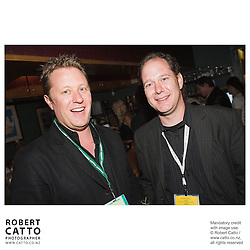 Colin Geddes;Jonathan King at the Toronto International Film Festival 2006 at the Shotover Bar, Yorkville, Toronto, Ontario, Canada.