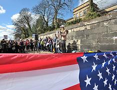 Gun control demonstration at US Consulate | Edinburgh | 24 March 2018