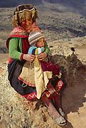 Quechua Indians<br />Andes. PERU.  South America