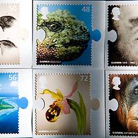 11-02-09 Charles Darwin Stamps