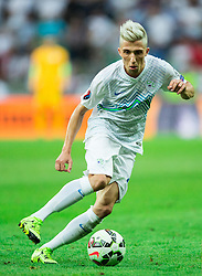 Kevin Kampl of Slovenia during the EURO 2016 Qualifier Group E match between Slovenia and England at SRC Stozice on June 14, 2015 in Ljubljana, Slovenia. Photo by Vid Ponikvar / Sportida