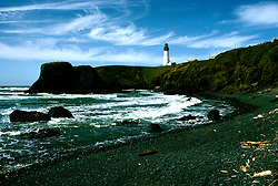 Oregon: Oregon Coast, Yaquina Lighthouse, Photo: orcoas101  .Photo copyright Lee Foster, www.fostertravel.com, 510/549-2202, lee@fostertravel.com