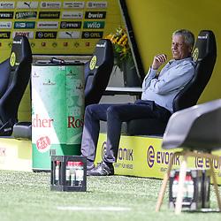 ; 1. Fussball-Bundesliga; Borussia Dortmund - TSG Hoffenheim am 27.06.2020 im Signal-Iduna-Park in Dormund (Nordrhein-Westfalen). <br /> <br /> FOTO: BEAUTIFUL SPORTS/WUNDERL/POOL/PIX-Sportfotos<br /> <br /> DFL REGULATIONS PROHIBIT ANY USE OF PHOTOGRAPHS AS IMAGE SEQUENCES AND/OR QUASI-VIDEO. <br /> <br /> EDITORIAL USE OLNY.<br /> National and<br /> international NewsAgencies OUT.<br /> <br /> <br /> <br /> Foto © PIX-Sportfotos *** Foto ist honorarpflichtig! *** Auf Anfrage in hoeherer Qualitaet/Aufloesung. Belegexemplar erbeten. Veroeffentlichung ausschliesslich fuer journalistisch-publizistische Zwecke. For editorial use only. DFL regulations prohibit any use of photographs as image sequences and/or quasi-video.