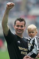 Photo: Andrew Unwin.<br /> Newcastle United v Chelsea. The Barclays Premiership. 07/05/2006.<br /> Newcastle's Shay Given.