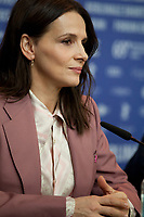at the press conference for the film Who You Think I Am (Celle Que Vous Croyez) at the 69th Berlinale International Film Festival, on Sunday 10th February 2019, Hotel Grand Hyatt, Berlin, Germany.