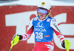 29.12.2014, Hohe Mut, Kühtai, AUT, FIS Ski Weltcup, Kühtai, Slalom, Damen, 2. Durchgang, im Bild Julia Dygruber (AUT) // Julia Dygruber of Austria reacts after 2nd run of Ladies Giant Slalom of the Kuehtai FIS Ski Alpine World Cup at the Hohe Mut Course in Kuehtai, Austria on 2014/12/29. EXPA Pictures © 2014, PhotoCredit: EXPA/ Erich Spiess
