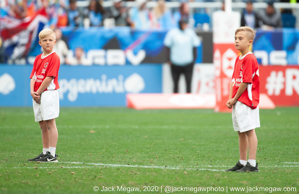 M45 - South Africa and Fiji compete in the Bronze Final of the 2020 Los Angeles Sevens at Dignity Sports Health Park in Los Angeles, California. March 1, 2019. <br /> <br /> © Jack Megaw, 2020