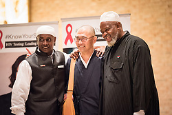 """12 September 2017, New York, USA: On 12 September, leaders from a variety of faiths and confessions gathered at the Interchurch Center Chapel in New York, for an interfaith prayer service on the theme """"Leading by Example: Faith and HIV Testing""""."""