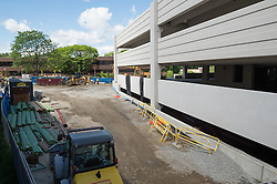 Bridgeport Hospital - Park Avenue Campus Outpatient Center<br /> Architect: Shepley Bulfinch  Contractor: Gilbane Building Company, Glastonbury, CT.<br /> James R Anderson Photography   New Haven CT   photog.com<br /> Date of Photograph: 6 June 2014