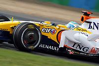 GEPA-2006087438 - MAGNY-COURS,FRANKREICH,20.JUN.08 - FORMEL 1, MOTORSPORT - Formel 1 Grand Prix, GP von Frankreich, Freies Training. Bild zeigt Nelson Piquet Jr (BRA/ Renault).<br />Foto: GEPA pictures/ Andreas Reichart