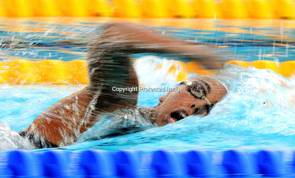 epa01813417 Alessia Filippi of Italy competes during the Women's 800m Freestyle final at the 13th FINA World Championship in Foro Italico Swimming Complex in Rome, Italy on 01 August 2009.  EPA/KERIM OKTEN
