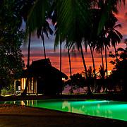 Tropical beach hut on el Nido resort, Palawan, Philippines