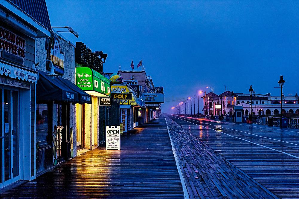 Ocean City boardwalk, New Jersey, USA