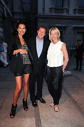GOGA ASHKENAZI and MATTHEW & ELISABETH FREUD at the Royal Academy of Arts Summer Party held at Burlington House, Piccadilly, London on 9th June 2010.