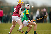 Leinster MHC at Dunganny, Trim, 12th March 2016<br /> Meath vs Westmeath<br /> Will Flynn (Meath) & Naoise McKenna<br /> Photo: David Mullen /www.cyberimages.net / 2016