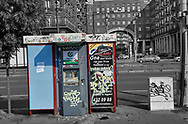 SERIES - UNRLIABLE-SIGHTINGS by PAUL WILLIAMS- Phone booth  Budapest