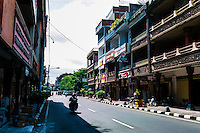Bali, Klungkung, Semarapura. The center of the Semarapura city, formerly known as Klungkung. Klungkung is today the name of the region.