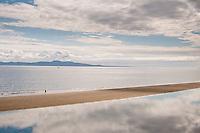 beach, Victoria, Cordova Bay, sandbar, summer, low tide, ocean,