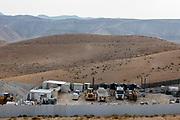Construction site in the Judaean Desert, West Bank