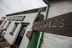 The Boathouse restaurant. Feature on the community on the island of Ulva, who have been awarded £4.4m in funding for their island buyout.