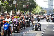 "The 2011 San Francisco Gay Pride Parade called ""In Pride We Trust"" started at Beale and Market and made its way to 9th..photo by Jason Doiy.©-All Rights Reserved"