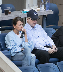 September 8, 2017 - Flushing Meadows, New York, U.S - Microsoft founder Paul Allen attends the game between Rafael Nadal and Juan Martin del Potro in the Semifinal game on Day Twelve of the 2017 US Open at the USTA Billie Jean King National Tennis Center on Friday September 8, 2017 in the Flushing neighborhood of the Queens borough of New York City.  Nadal defeats del Potro. Nadal defeats del Potro, 4-6, 6-0, 6-3, 6-2. (Credit Image: © Prensa Internacional via ZUMA Wire)
