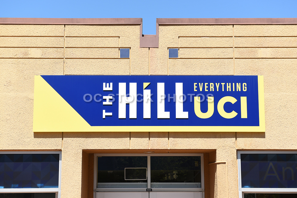 Closeup Signage of The Hill Everything UCI School Supply Store