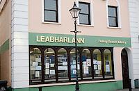 Local public library in Dalkey Dublin Ireland