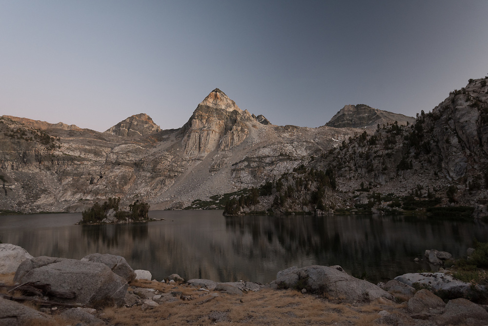 Painted Lady and Rae Lakes in the evening