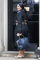 Downing Street, London, November 15th 2016.  International Development Secretary Priti Patel arrives in Downing Street for the weekly cabinet meeting.