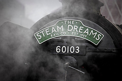 © Licensed to London News Pictures. 20/05/2021. London, UK. The world famous LNER Flying Scotsman steam locomotive prepares to leave Victoria Station in central London ahead of a tour through the Surrey Hills in South east England. The heritage steam locomotive touring season was mostly cancelled last year due to the Covid-19 pandemic but is now underway as restrictions are eased. Built in 1923 for the London and North Eastern Railway (LNER)It was the first steam locomotive to reach 100 miles per hour . Photo credit: Ben Cawthra/LNP